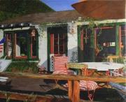 tableau paysages amerique los angeles venice canals : Une Maison américaine, Venice Canals, L.A.
