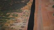 tableau paysages border usa mexico : Frontière #1(Mexique-USA)