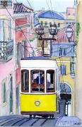 tableau villes funiculaire lisbonne da bica portugal : 2021-09 Funiculaire da Bica de Lisbonne