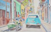 tableau villes cuba la havane chevrolet side car : 2021-05 La Havanne