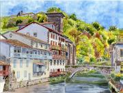 tableau villes saint jean pied de port pays basque pyrenees atlantique : 2021-19 Saint Jean Pied de Port