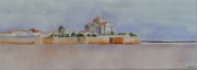 tableau marine charentes maritimes talmont gironde : 2002-02 Panoramique sur Talmont