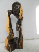 sculpture abstrait pluie eau orage eclair : PENSEUR