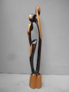 sculpture abstrait oiseau vol arbre feuille : TOGETHER