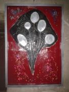 tableau : La méduse noire