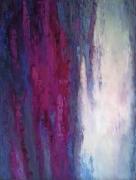 tableau abstrait abstraction abstrait : PAINTING *CRIMSON JAM*OIL ON CANVAS 70X90CM
