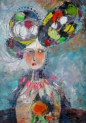 tableau nus artmodern fleurs abstract tableau home decor : Painting Flower