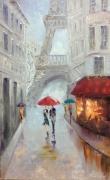 tableau architecture paris architecture abstraction picture : picture*Paris*50x80cm oil on canvas  Vendu
