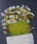 tableau fleurs fleurs abstrait artmodern : Fleurs