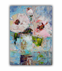 Painting-Bouquet-Flowers