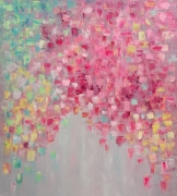 tableau fleurs abstract and nonfig oil painting tableau abstrait : painting *Dolce Vita