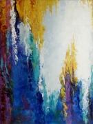 tableau abstrait art : painting *Improvisation*