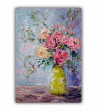 painting *Bouquet of Flowers in a Vase*