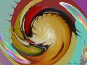 art numerique scene de genre escargot : Caracoles