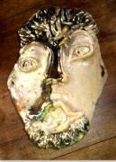 sculpture personnages : masque homme