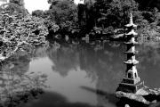 photo paysages jardin japonais lac zen calme : Zénitude...