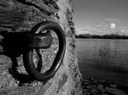 photo paysages loire amarrage bateau riviere : L'anneau ...