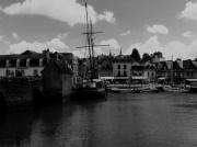 photo paysages auray stgoustan port bateau : Port St-Goustan