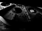 photo architecture trelaze ardoise mine usine : Sancturis Trélazéum 1