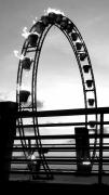photo architecture structure ponton feu mer : Circle fire
