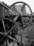 photo architecture trelaze ardoise mine industriel : Sancturis Trélazéum 3