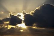 photo paysages ciel nuages soleil : Rays of God