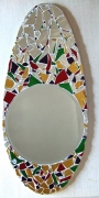 artisanat dart autres provence : Oeuf, miroir rond