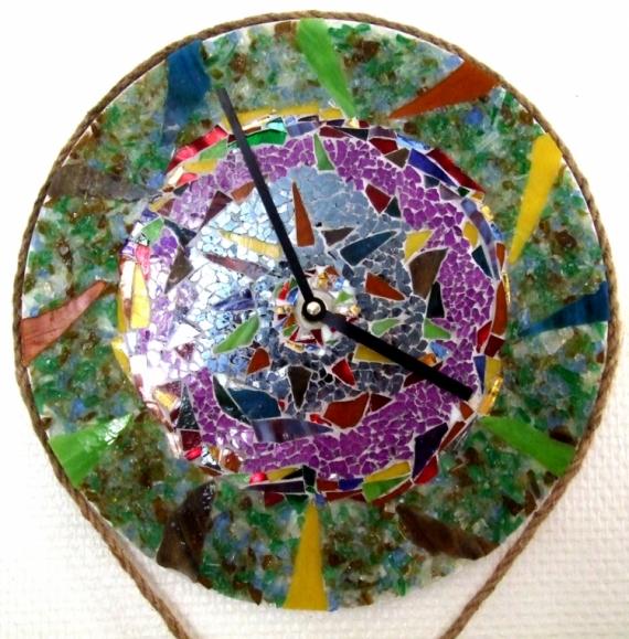 ARTISANAT D'ART Provence  - Horloge