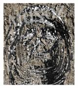 art numerique personnages portrait sable visage metal : MASQUE