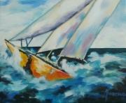 tableau marine bateau peinture peinture bateau en peinture painture ,a l hu : Bateau