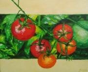 tableau fruits peinture ,a l hu tomates en peinture l huile sur toi : Des tomates