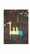 tableau animaux animal animeaux abstrait : le chameau