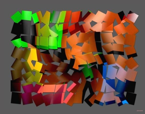 ART NUMéRIQUE numérique abstrait 2015 Abstrait  - 015/2015