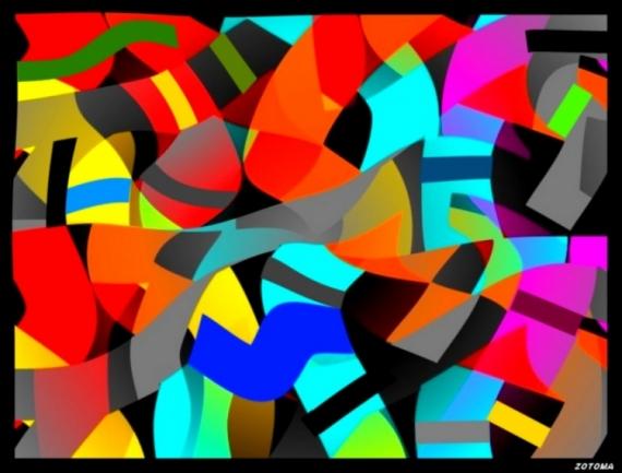 ART NUMéRIQUE composition 2015 numérique Abstrait  - 099/2015