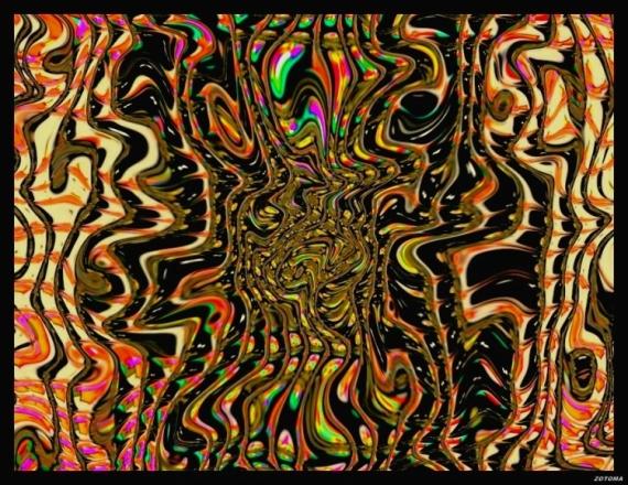 ART NUMéRIQUE composition 2015 abstrait Abstrait  - 092/2015