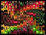 art numerique abstrait numeriques abstrait composition : 002/2016