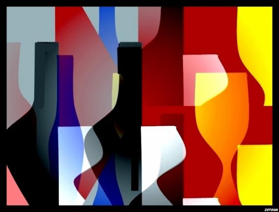 ART NUMéRIQUE numérique abstrait 2015 Abstrait  - 334/2015