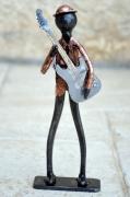 sculpture personnages guitariste musique musicien jazz : guitariste 4