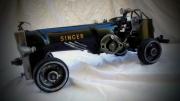 artisanat dart sport voiture course sewing machine car : voiture 17