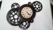 deco design autres horloge pieces motos temps pendule : horloge
