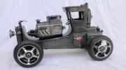 artisanat dart sport voiture hot rod sewing machine car course : hot rod