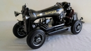 artisanat dart sport voiture sport mecanique course sewing machine car : voiture 9