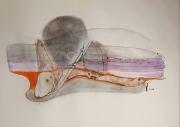 """dessin abstrait abstrait jacques grange peintre : """"Jour gris"""""""