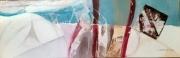 tableau abstrait toile jacques grange peinture : Collection privée