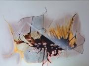 dessin abstrait : Volcanisme
