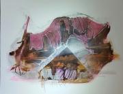 dessin abstrait : Agglomération