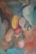 tableau abstrait peinture ,a l huile abstrait toile : Organique