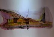 """dessin abstrait peinture abstrait jacques grange : """"Enrochement """""""