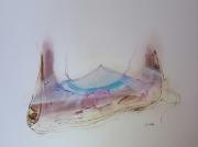 dessin abstrait dessin peinture jacques grange toiles : Infiltrations