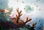 tableau marine tableau art salmet marine : le bois